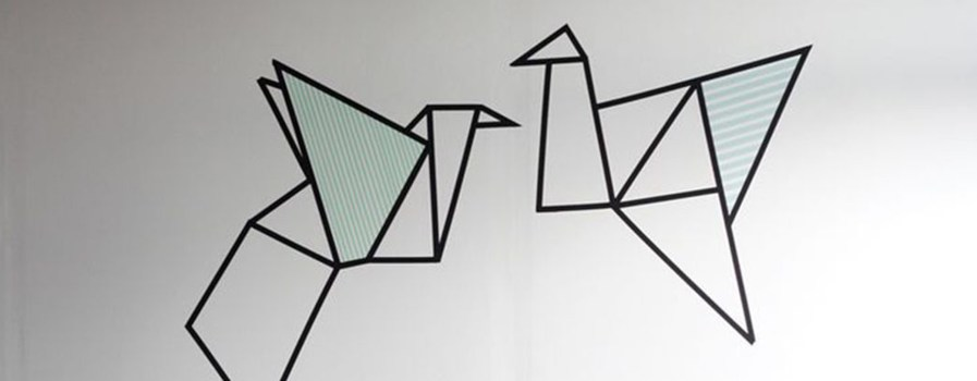 Tape Wall Art: The Stress-Free Way to Decorate Your Home